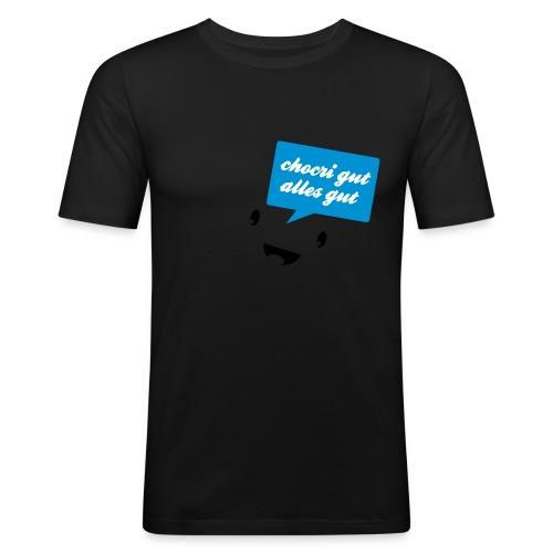 chocri gut v2 - Männer Slim Fit T-Shirt