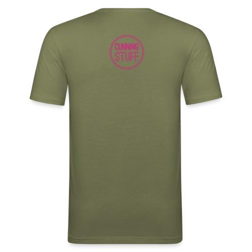 CS-Logo-Original-Negativ - Männer Slim Fit T-Shirt