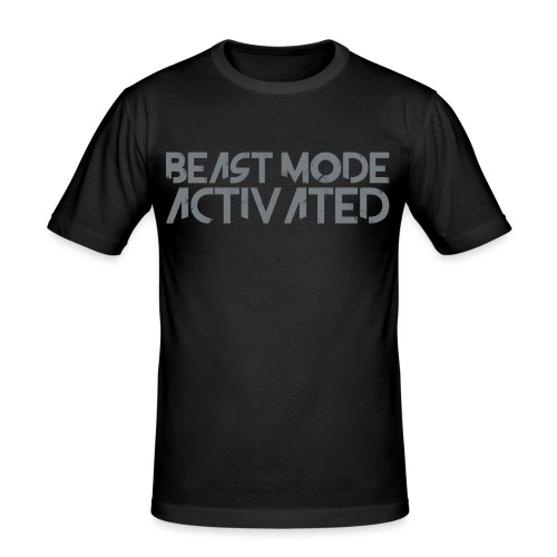 beastmodeactivated2 - Slim Fit T-shirt herr