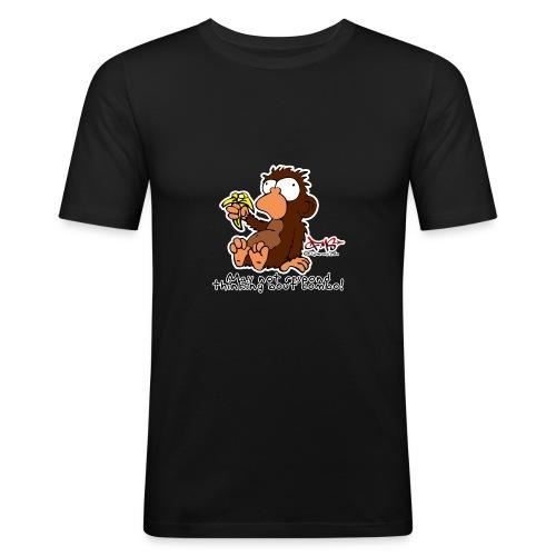 ultimatemonkey - Männer Slim Fit T-Shirt