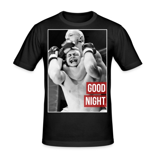 Good night Choke mens Tshirt - Men's Slim Fit T-Shirt