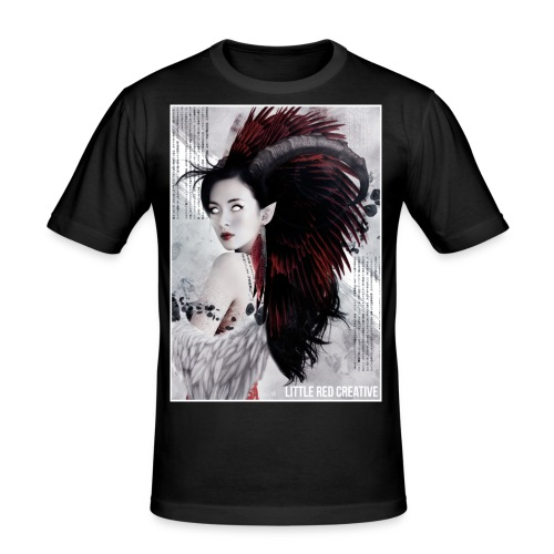 feathers - Men's Slim Fit T-Shirt
