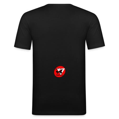 Belfast YMCA Powerlifting Logo - Men's Slim Fit T-Shirt