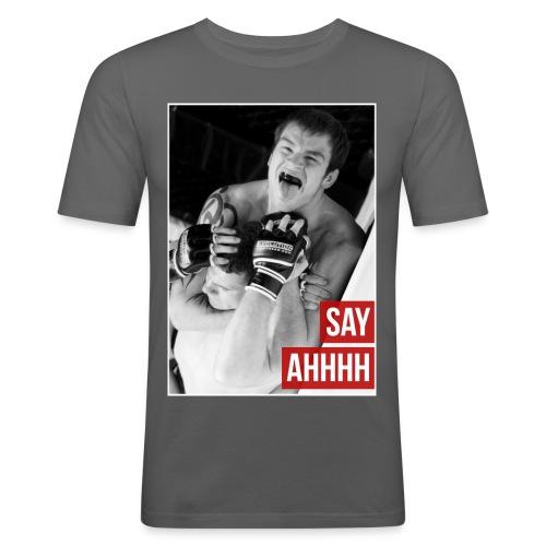 Say Ahhh - Men's Slim Fit T-Shirt