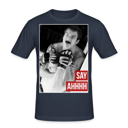 Say Ahhh - Men's Slim Fit T-Shirt