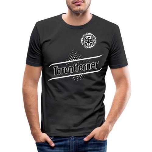 RUND NEUNZIG MINUTEN - TORENTFERNER - Männer Slim Fit T-Shirt