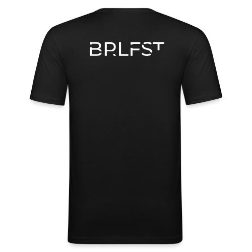 BRLFST Hoodie White Neu - Männer Slim Fit T-Shirt