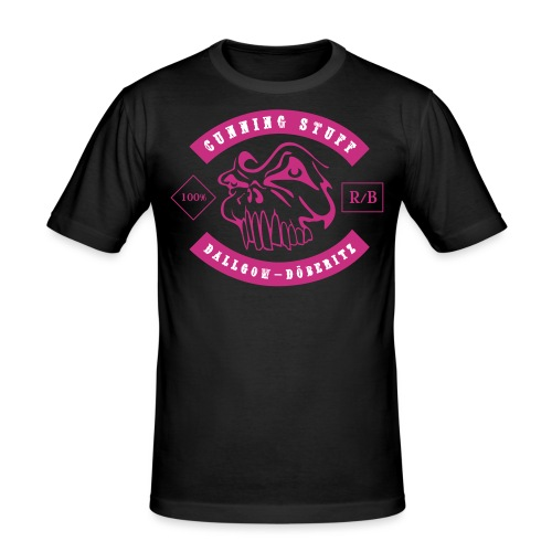 CS-Logo-Skull-01-NEW-Pfad - Männer Slim Fit T-Shirt