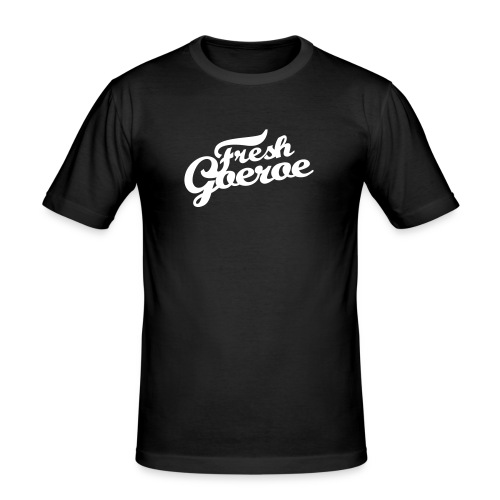 freshgoeroe - Mannen slim fit T-shirt