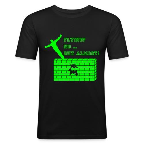 almostflying2 - Männer Slim Fit T-Shirt