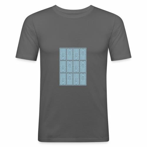 LUFC AZTEC - Men's Slim Fit T-Shirt