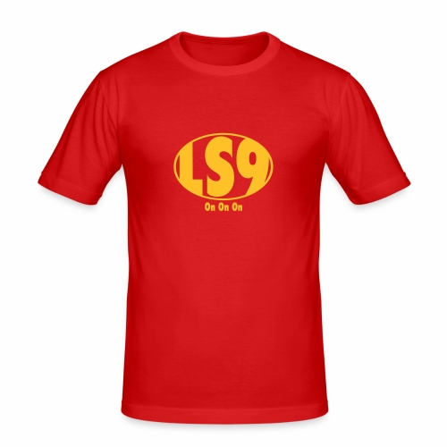LS9 WHITES - Men's Slim Fit T-Shirt