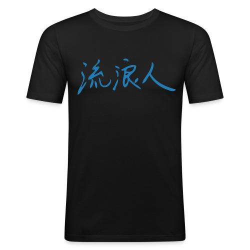 [liu lang ren] Landstreicher - Jiang-Style.de - - Männer Slim Fit T-Shirt