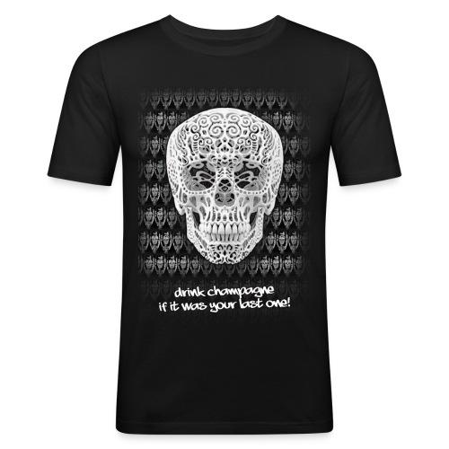 Drink Champ - Mannen slim fit T-shirt