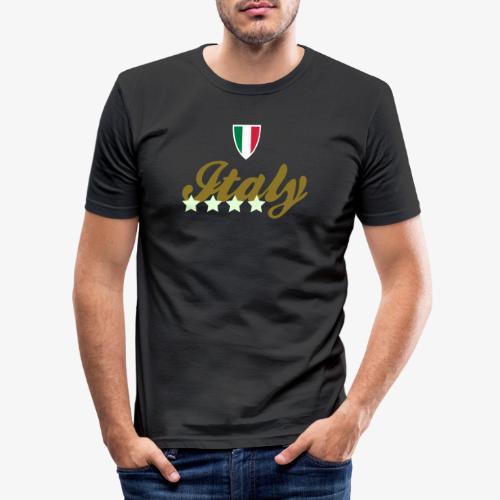 Gruppo di stelle Italia - Maglietta aderente da uomo