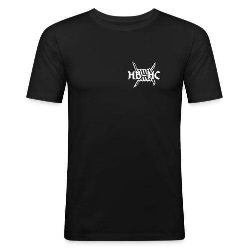 HB HC Logo klein - Männer Slim Fit T-Shirt