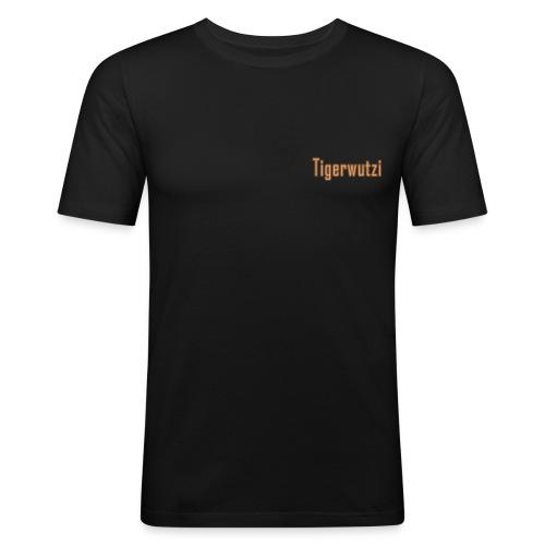 tigerwutzi M png - Männer Slim Fit T-Shirt