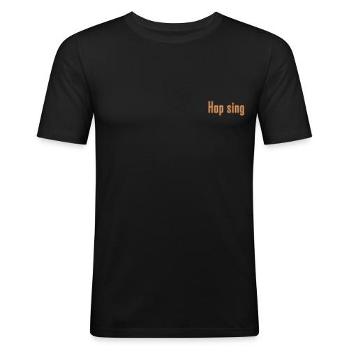 Hop sing xl png - Männer Slim Fit T-Shirt