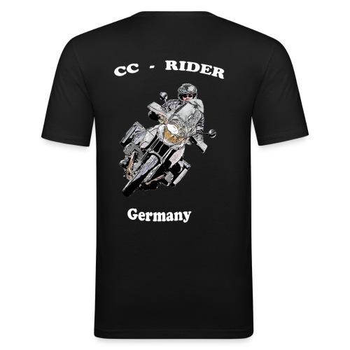 CC Motorrad - Männer Slim Fit T-Shirt