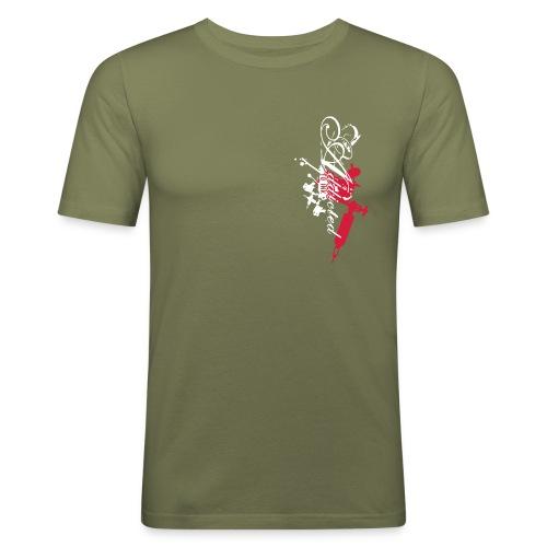 addicted - Männer Slim Fit T-Shirt