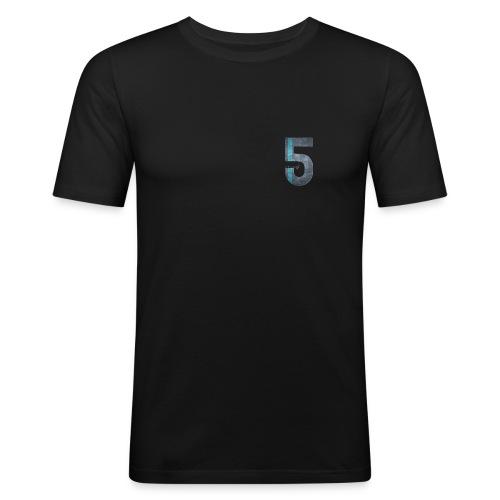 5 - Männer Slim Fit T-Shirt