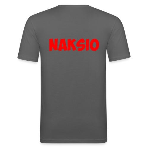 T-shirt NAKSIO - T-shirt près du corps Homme