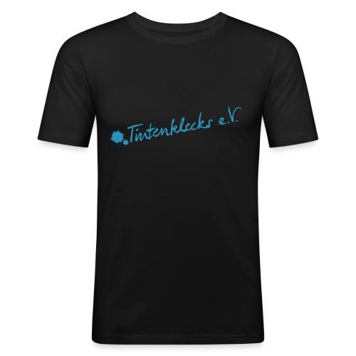 Tintenklecks e.V. Logo - Männer Slim Fit T-Shirt