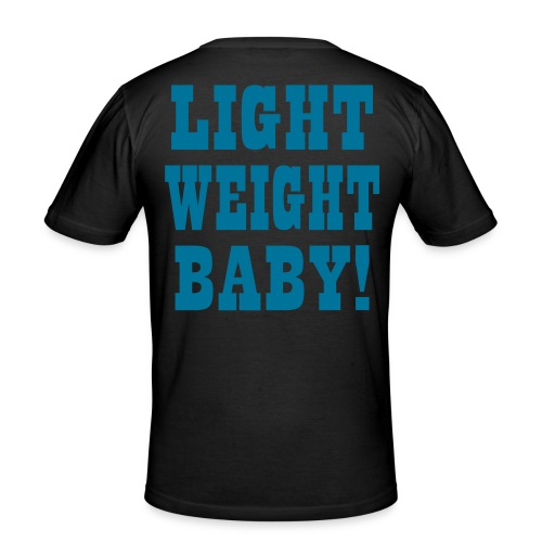 Light Weight Baby Vektor - Männer Slim Fit T-Shirt