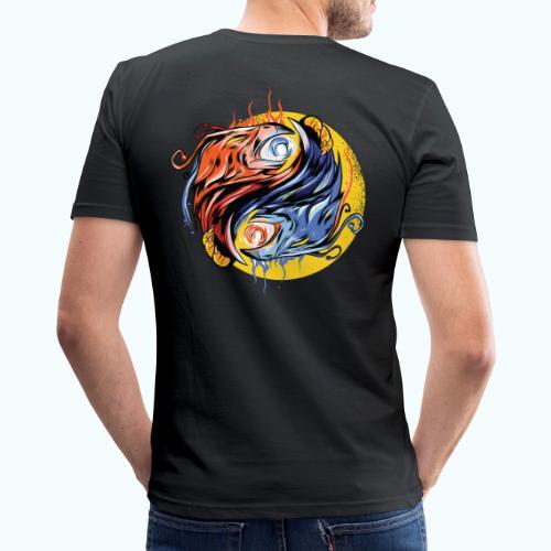 Japan Phoenix - Men's Slim Fit T-Shirt