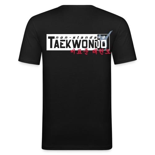NSTKD Logo 2016 - Männer Slim Fit T-Shirt