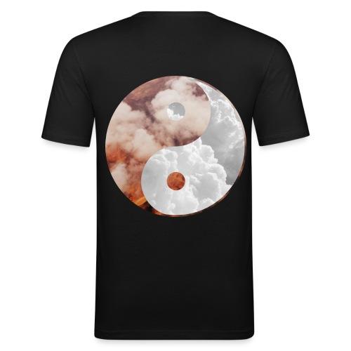 back png - Men's Slim Fit T-Shirt
