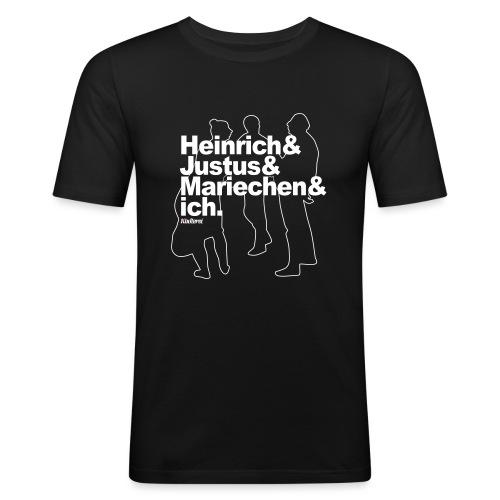 3 Schwätzer - Männer Slim Fit T-Shirt