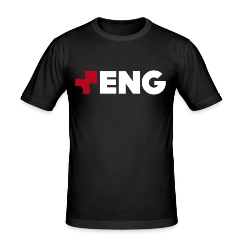eng2c - Männer Slim Fit T-Shirt