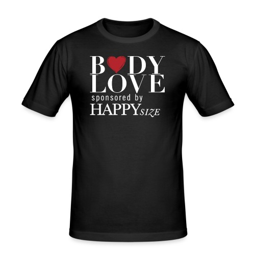 bodylove sponsered by HS - Männer Slim Fit T-Shirt