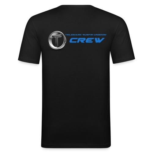 TRU CREW - Slim Fit T-skjorte for menn