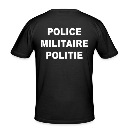 Belgian Military Police - slim fit T-shirt