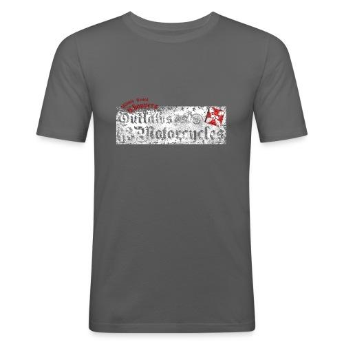 outlaw devant rect png - T-shirt près du corps Homme