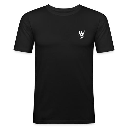 WayanoBoss WB png - Mannen slim fit T-shirt