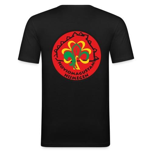 NoviomaguStam - Mannen slim fit T-shirt