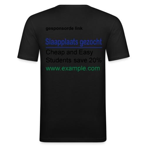 gezocht - Mannen slim fit T-shirt