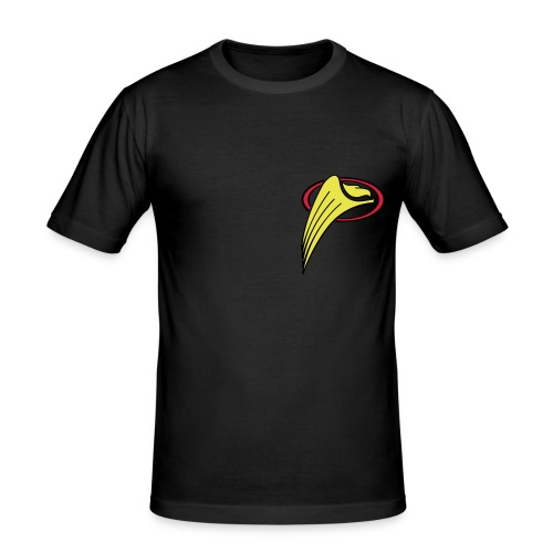 shirt logo greifs - Männer Slim Fit T-Shirt