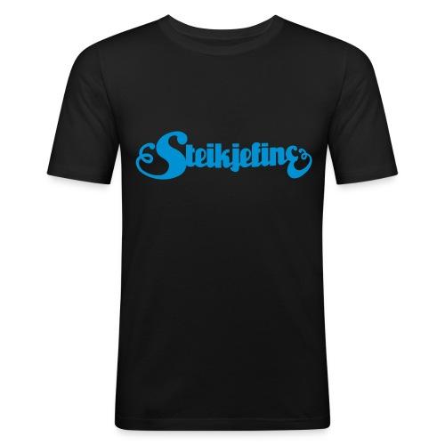 blaa - Slim Fit T-skjorte for menn
