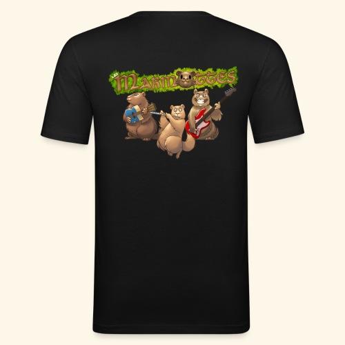 Tshirt groupe dos - T-shirt près du corps Homme