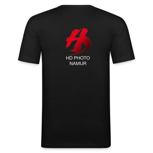 logo hd photo namur - T-shirt près du corps Homme