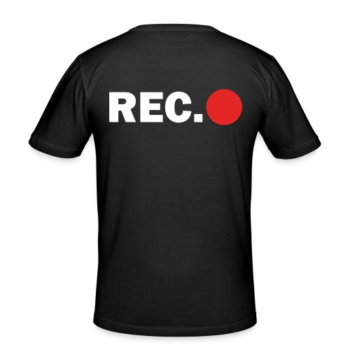 Cameraman Cap - Mannen slim fit T-shirt