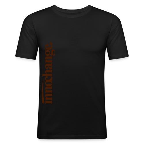 logoneutral - Männer Slim Fit T-Shirt