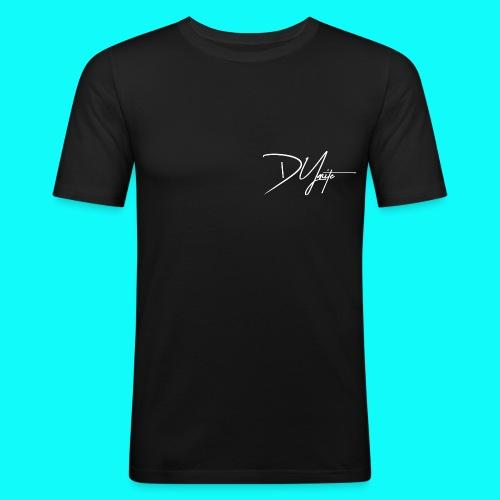 DyMite weiß png - Männer Slim Fit T-Shirt