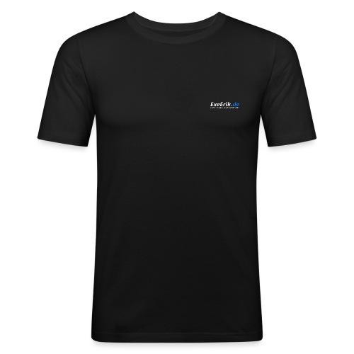 logo ExeErik de 1 png - Männer Slim Fit T-Shirt