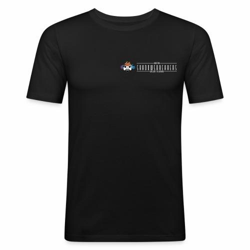 Logo Small Neg - Maglietta aderente da uomo