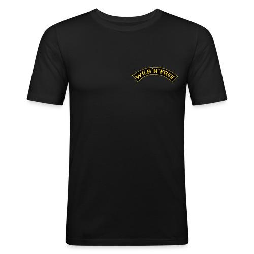 wnf_schrift - Männer Slim Fit T-Shirt